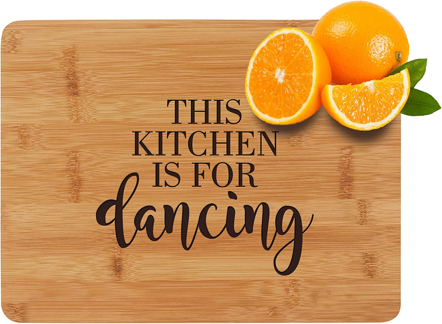 This Kitchen is For Max 66% OFF Dancing - Bamboo Engraved Board Cutting wholesale Wo