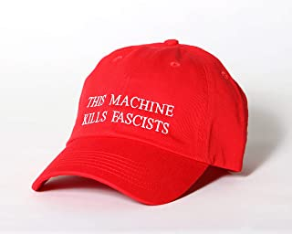 This Machine Kills Fascists Red Hat