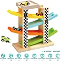 Top Bright 6 Car Ramp Racer Track Toddler Toys