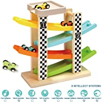 Top Bright 6 Car Ramp Racer Track Toddler Toys