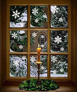 winter window decorations
