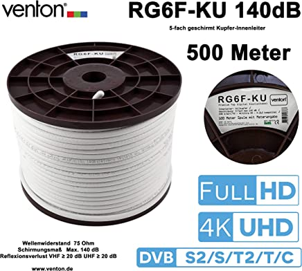 Amazon.es: cable coaxial - 200 - 500 EUR: Electrónica
