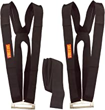 Shoulder Dolly Moving Straps - Lifting Strap for 2 Movers - Move, Lift, Carry, And Secure Furniture, Appliances, Heavy, Bulky Objects Safely, Efficiently Like The Pros - Essentials- LD1000 (Renewed)