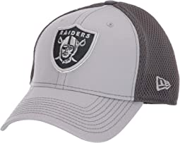 NFL Grayed Out NEO 39THIRTY Flex Fit Cap - Oakland Raiders