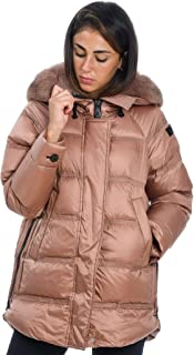 PEUTEREY Luxury Fashion Womens PED337201180967839 Bronze Down Jacket | Fall Winter 19