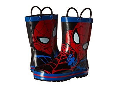 Favorite Characters Spider-Man Rain Boot (Toddler/Little Kid) (Red/Black/Royal) Boys Shoes