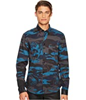 Versace Jeans - Tiger Camo Button Down