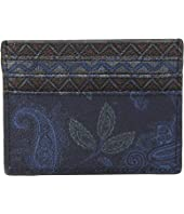 Etro - Mixed Paisley Card Holder