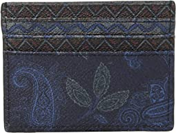 Mixed Paisley Card Holder