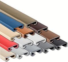 Handlauf PVC SILBER 40x8 Treppenhandlauf Kunststoffhandlauf Geländerprofil