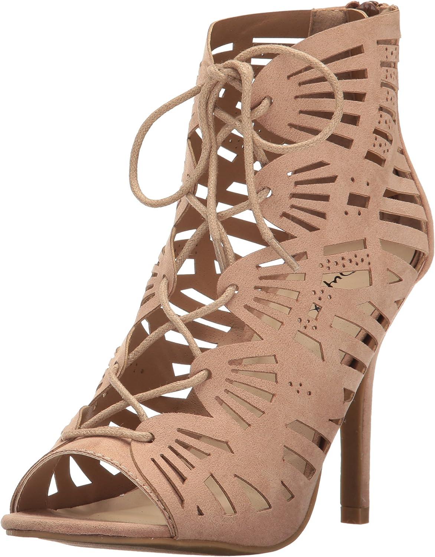 Qupid Women's Katana-02 Dress Sandal