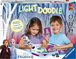 Ravensburger - Lightdoodle - Creative Drawing Game - Frozen 2 - Children from 3 years old - 18086- French Version