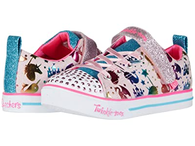 SKECHERS KIDS Twinkle Toes Sparkle Lite 314052L (Little Kid/Big Kid) (Light Pink Multi) Girl