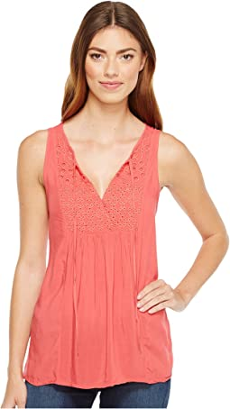 Eyelet Chloe Shell Top