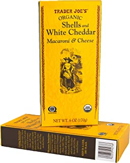 Trader Joe's Organic Macaroni and Cheese - Shell Pasta with White Cheddar (2-Pack)