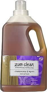 Indigo Wild Zum Clean Laundry Soap Frankincense Myrrh,64 fl oz