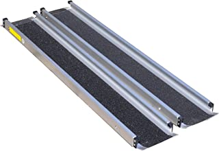 Aidapt - Raíles telescópicos para silla de ruedas (213,36 cm)
