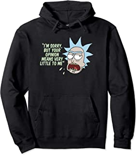 Your Opinion Means Very Little to Me Pullover Hoodie