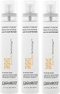 Giovanni Vitapro Fusion Protective Moisture Leave-in Hair Treatment, Packaging May Vary,  5.1-Ounces Bottle (Pack of 3)