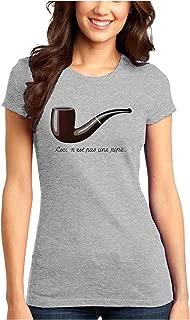 Ceci N'est pas une Pipe Juniors T-Shirt