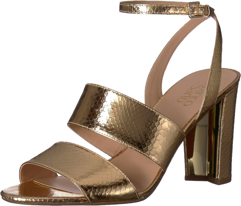 Franco Sarto Womens Haneli Heeled Sandal
