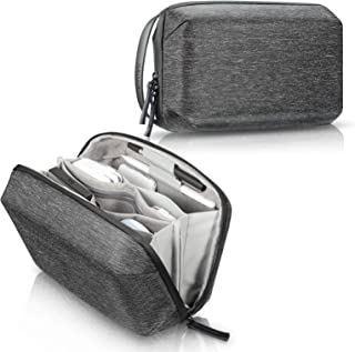 SITHON Electronics Organizer, Water Resistant Travel Cable Management Electronic Accessories Case Storage Bag w/Shoulder S...