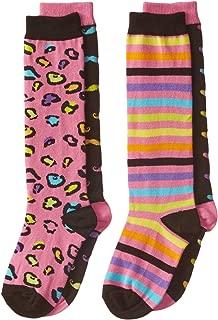 K. Bell Big Girls' Mix it Up Socks