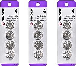 SINGER MULTI2136-3 Metal Bobbins 3-Pack