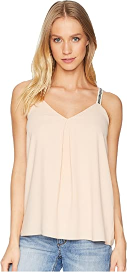Embroidered Strap Camisole