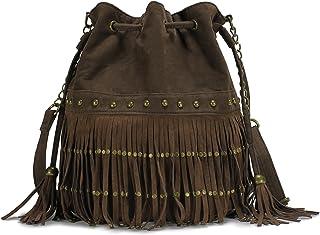 0ade45c8c9 Amazon.com  Suede - Shoulder Bags   Handbags   Wallets  Clothing ...