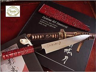 Tojiro: WA-Urushi Murakami: FD899: Sashimi Cuchillo Sushi artig. Damasco (62s)
