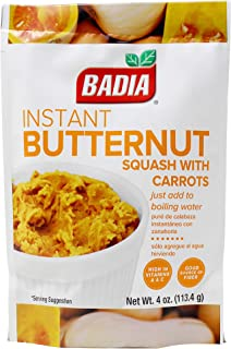 BADIA INSTANT BUTTERNUT SQUASH WITH CARROTS 113.4g