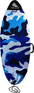 """Tidal Wake TAG-IT Surf & Wake Board Sock Bag with Built-in Name Tag, Round Nose Style, 60"""", Tag Your Bag - Personalize wit..."""