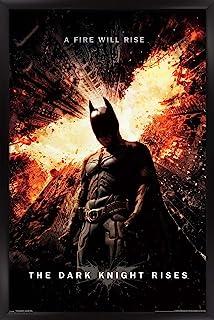 "Trends International 24X36 DC Comics Movie The Dark Knight Rises - One Sheet Wall Poster, 24"" x 36"", Unframed Version"