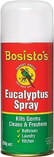 Bosisto's Eucalyptus Spray 200g | Multipurpose Spray, Kills 99.9% of Germs, Essential Oil, Fresh, Natural Effective Germ K...