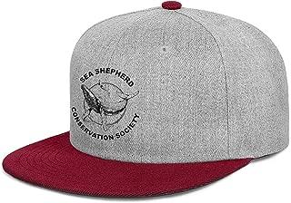 WJINX Sea-Shepherd-Conservation-Society- Men Women Hip-Hop Flat Brim Trucker Cap Golf Hat Snapback Adjustable