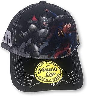 Checkered Flag Dale Earnhardt Jr #88 & Jimmie Johnson #48 Batman VS Superman Dual Hat Cap … (Youth)