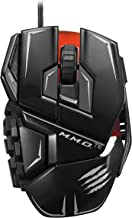 Mad Catz M.M.O.TE Tournament Edition Gaming Mouse for PC -Gloss Black