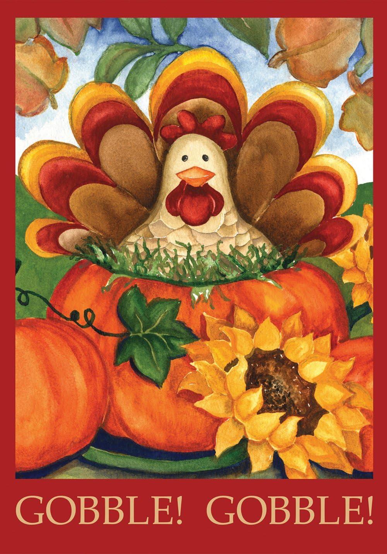 Toland Home Garden 111223 Autumn Max 77% Super-cheap OFF Turkey Inch 18 12.5 x Decorativ
