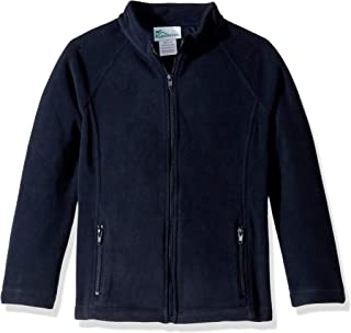Girls Fitted Polar Fleece Jacket