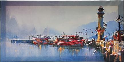 لوحة جدارية مطبوعة على مادة الفينيل الفاخرة من ساسب مع اطار مخفي مقاس 100 × 50 سم، رقم P304558211