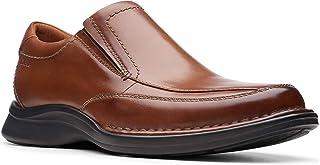 احذية سهلة الارتداء بدون رباط من كلاركس للرجال, (بني), 9 UK