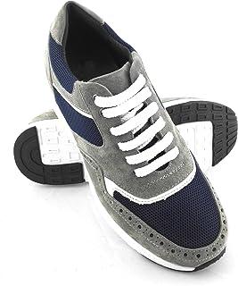 scarpe sportive uomo rialzate 10 cm