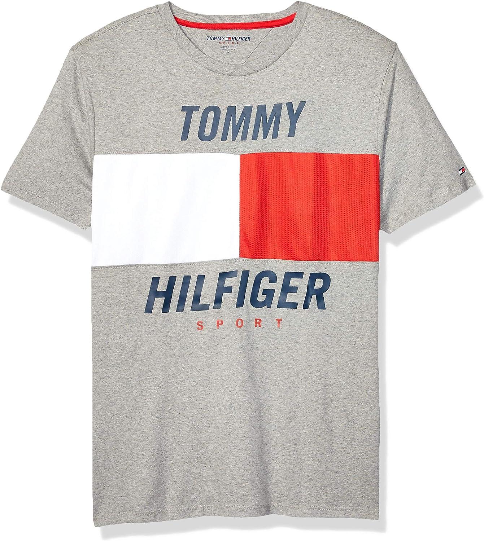 Tommy Hilfiger Men's Sport Short Sleeve Graphic T Shirt