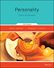 Personality: Theory and Research, 13th Edition