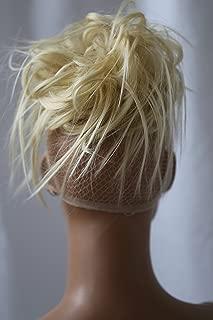 PRETTYSHOP Hairpiece Hair Rubber Scrunchie Scrunchy Updos VOLUMINOUS Wavy Messy Bun platinumblond 613A G3F