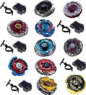 10 x xxl kampsporroskop mega set metall fusion 4D kamp cirkel set för beyblades från Rapidity®