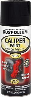 Rust-Oleum 251592 Specialty Rust Preventive Caliper Spray Paint, 12 Oz Aerosol Can, 12-Ounce, Black