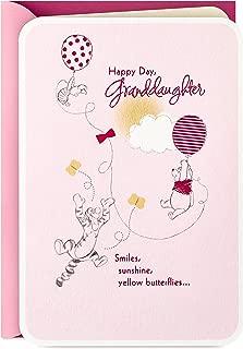Hallmark Winnie The Pooh Birthday Card for Granddaughter (Beautiful Birthday)