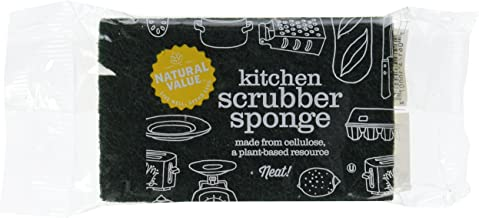 Natural Value Kitchen Scrubber Sponge (Pack of 24)
